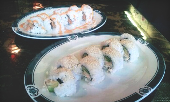 Green Wok Vegan Restaurant - SW Portland: $10 for $20 Worth of Vegan Sushi at Green Wok Vegan Restaurant