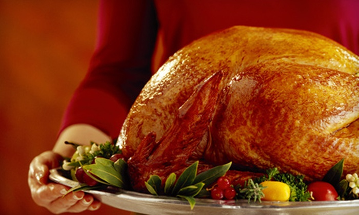 Happy Everything Catering - Springmill Streams: Gourmet Thanksgiving Dinner for 6, 8 or 10 from Happy Everything Catering (Up to 60% Off)