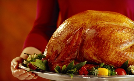 Delivered Thanksgiving Dinner for 6 (a $304.30 value) - Happy Everything Catering in
