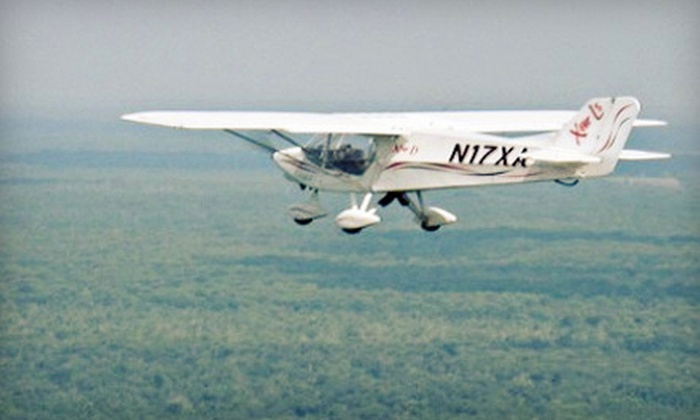 Village Flyers - Coleman: $75 for Introductory Flying Lesson Package at Village Flyers in Coleman ($150 Value)