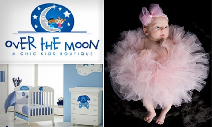 Over The Moon Boutique - Boston: $20 for $50 Worth of Baby Apparel, Accessories, Furniture, Gifts, and More from Over the Moon Boutique