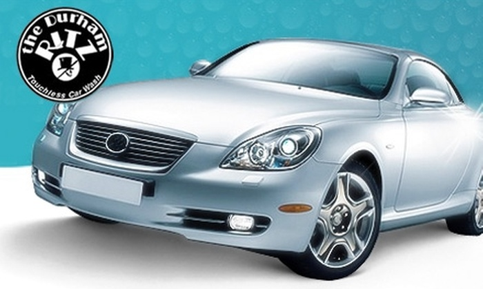 The Durham Ritz Car Wash - Durham: $10 for a Deluxe Car Wash at The Durham Ritz Car Wash