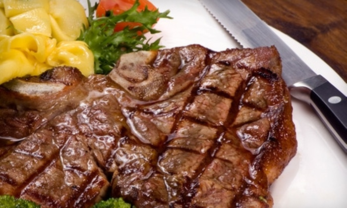 Majestic Restaurant - Central Business District - Downtown: $20 for $40 Worth of Steakhouse Dinner and Drinks at The Majestic Restaurant (or $7 for $15 Worth of Breakfast, Brunch, and Lunch)