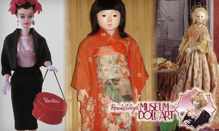 Rosalie Whyel Museum of Doll Art - Northwest Bellevue: $25 for an Annual Family Pass to the Rosalie Whyel Museum of Doll Art