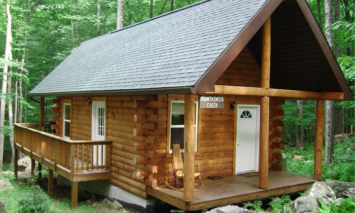 Mountain Creek Cabins - Bruceton Mills: Two- or Three-Night Stay for Up to Four at Mountain Creek Cabins in West Virginia