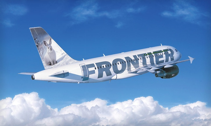 Frontier Airlines: $25 for $50 Toward Any Flight on Frontier Airlines