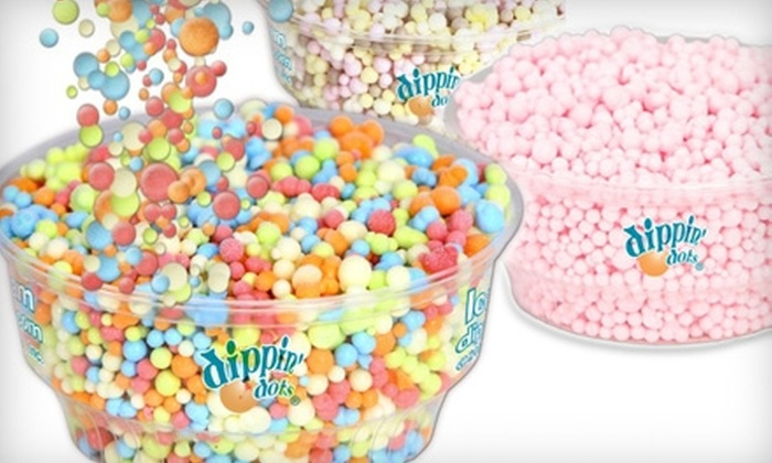 Dippin' Dots  - Multiple Locations: $5 for Ice Cream & Dessert from Dippin' Dots ($10 Value). Two Locations Available.