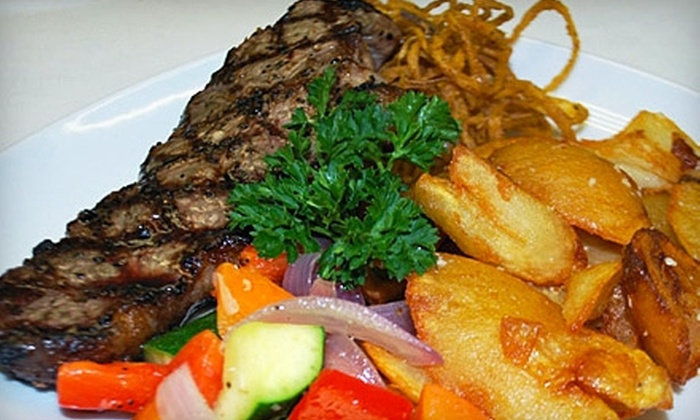 Caddy's Steakhouse - 400 North: $15 for $30 Worth of Steaks, Schnitzel, and More at Caddy's Steakhouse