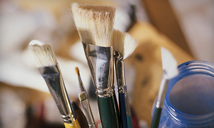 Bull City Craft - Rockwood: BYOB Paint and Pour Class for Two or Hassle-Free Birthday Party at Bull City Craft in Durham