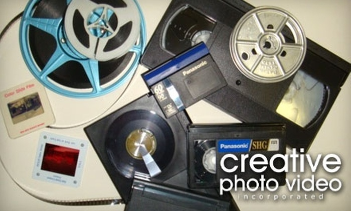 Creative Photo Video, Inc. - Central Oklahoma City: $10 for Any Videotape-to-DVD Conversion at Creative Photo Video, Inc. ($21 Value)