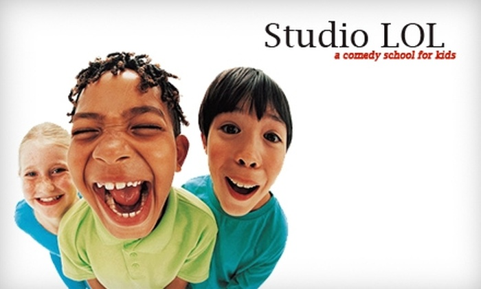 Studio LOL - Studio City: $40 for Four Kids' Improv Classes at Studio LOL in Studio City ($120 Value)