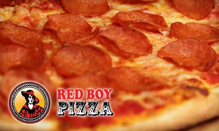 Red Boy Pizza - Novato: $15 for $30 Worth of Pizza, Pasta, and Drinks at Red Boy Pizza Entrada in Novato