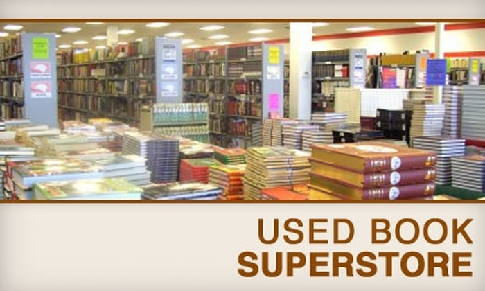 Used Book Superstore - Multiple Locations: $10 for $20 Worth of Used Books, CDs, and More at Used Book Superstore. Choose One of Five Locations.