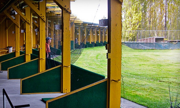 Redwood Golf Center - Redmond: Punch Card for 25 or 50 Large Buckets of Range Balls at Redwood Golf Center in Redmond