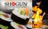 Shogun Japanese Steakhouse - East Louisville: $17 for $35 Worth of Japanese Cuisine and Drinks at Shogun