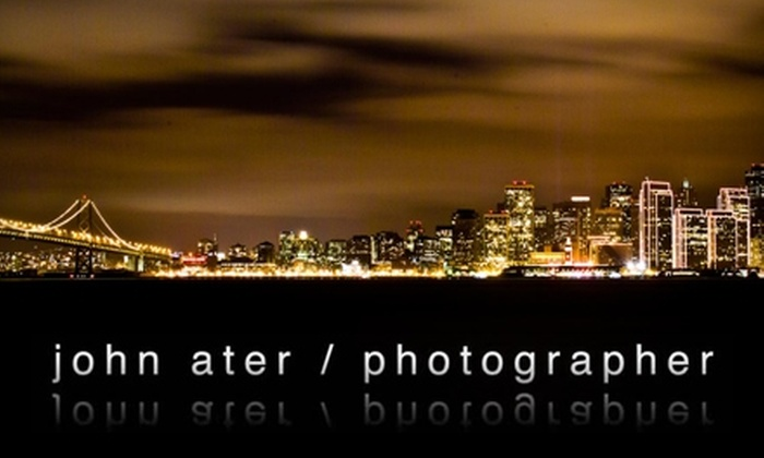 John Ater / Photographer - Multiple Locations: $75 for a Photography Workshop with John Ater / Photographer  ($150 Value)