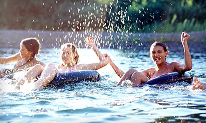 Raccoon River Excursions - Des Moines: $12 for a River-Tubing Excursion from Raccoon River Excursions ($25 Value)