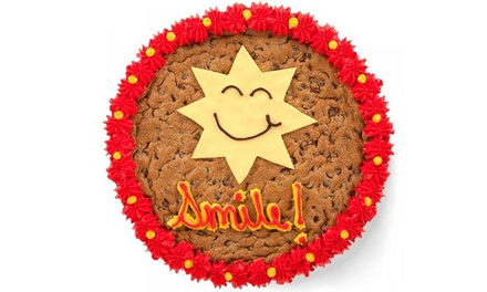 $13 for a 13-Inch Cookie Cake with Artwork at Mrs. Fields ($23.99 Value)