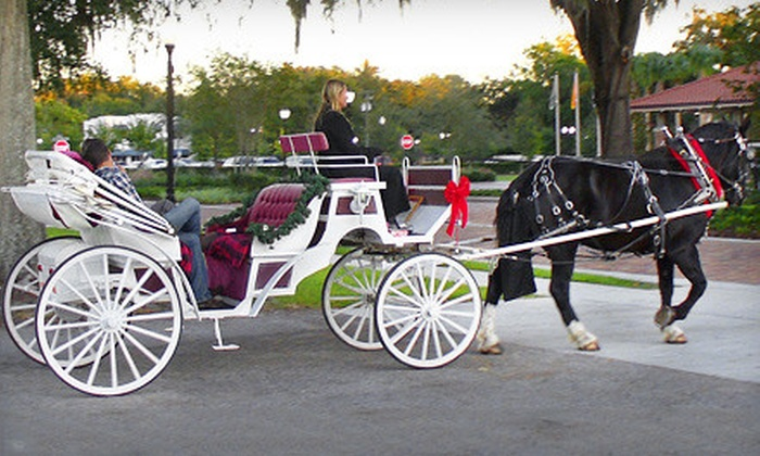 Jewel Court Stables - Lake Avalon Groves: One-Hour Carriage Ride for Two or Four from Jewel Court Stables in Winter Garden (Up to 53% Off)