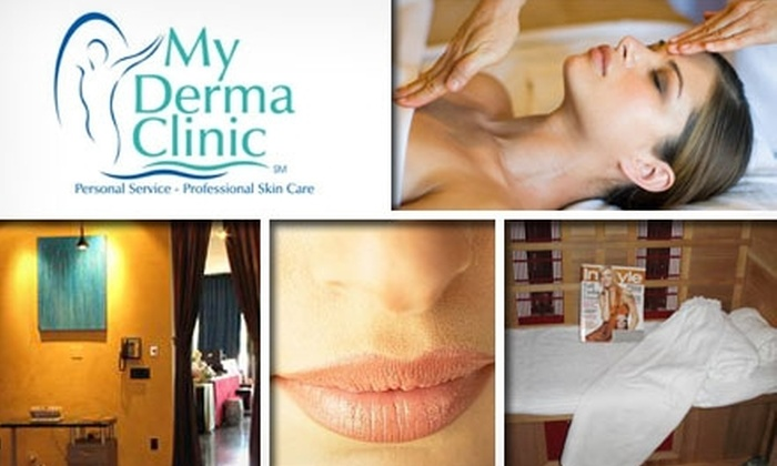 My Derma Clinic Day Spa - Pinecrest: $59 for a Party Peel, GentleWaves Skin Treatment, and Hydro Massage at My Derma Clinic Day Spa
