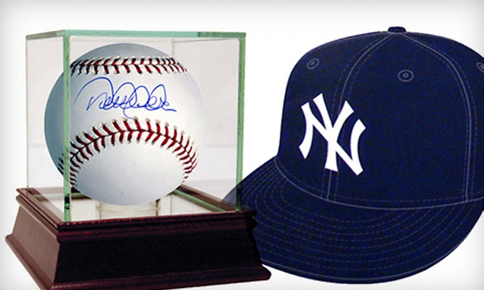Steiner Sports: $25 for $50 Worth of New York Yankees Memorabilia Plus Shipping from Steiner Sports ($58.99 Value)