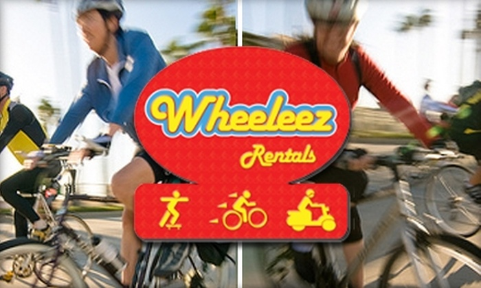 Wheeleez U.S.A. - City Center: $13 for a 24-Hour Bike Rental from Wheeleez U.S.A.