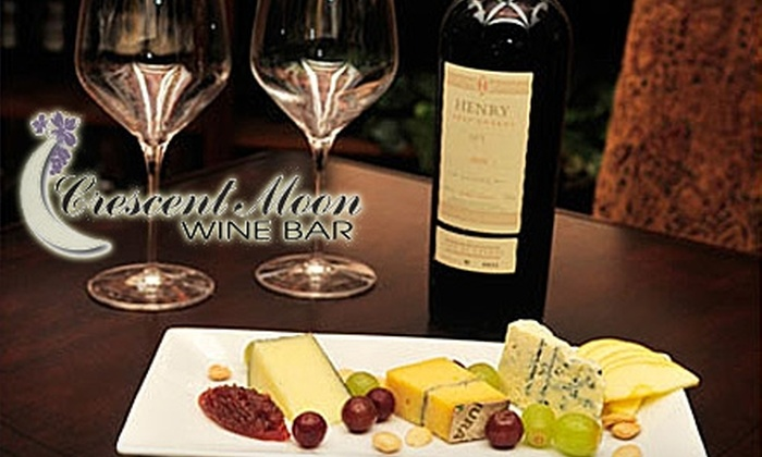Crescent Moon Wine Bar - Southeast Montgomery: $15 for $30 Worth of Upscale Fare at Crescent Moon Wine Bar in Spring