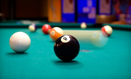2 Hours of Pool for Two plus 2 Draft Beers (a $38 value) - Willow Billiards in Hoboken