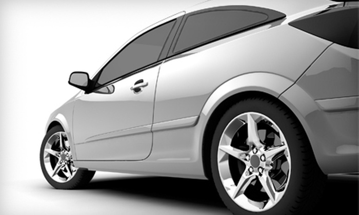 AAA Performance Auto Tint - Southeast Colorado Springs: Tinting for Two Front Windows or Five Windows at AAA Performance Auto Tint (Up to 51% Off)