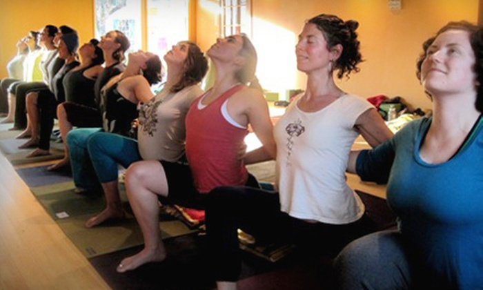 Freedom Yoga - Downtown: $39 for 10 Classes at Freedom Yoga (Up to $90 Value)