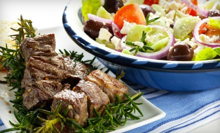 $30 Groupon for Authentic Greek Fare - Athenian Greek Taverna in Commack