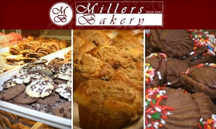 Millers Bakery - Multiple Locations: $10 for $20 Worth of Danishes, Pastries, Special-Occasion Cakes, and More at Millers Bakery