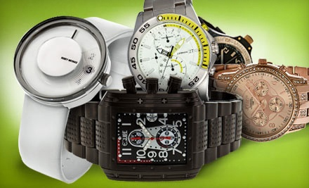 $50 Groupon for Designer Watches - WristWatchStore.com in