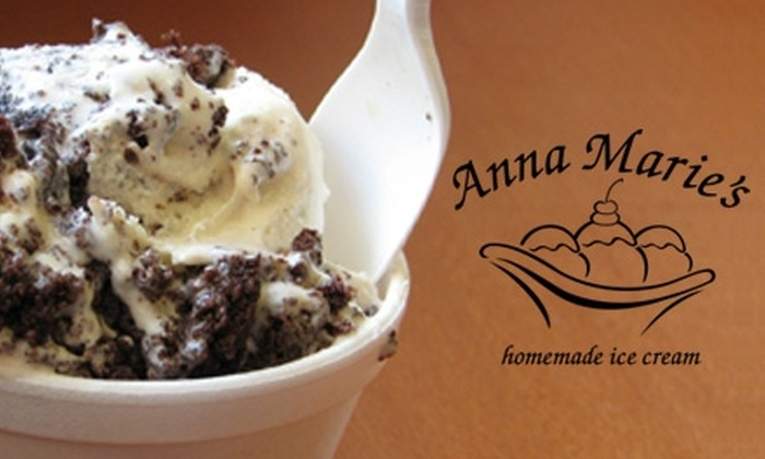 Anna Marie's - Chesterfield: $5 for $10 Worth of Homemade Ice Cream and Desserts at Anna Marie's