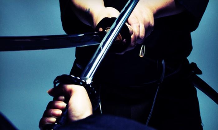 Bujinkan New York Dojo - Cedar Knolls: Three Ninja-Sword Classes or Five Ninja-Sword Classes and Sword at Bujinkan New York Dojo in Yonkers (Up to 63% Off)
