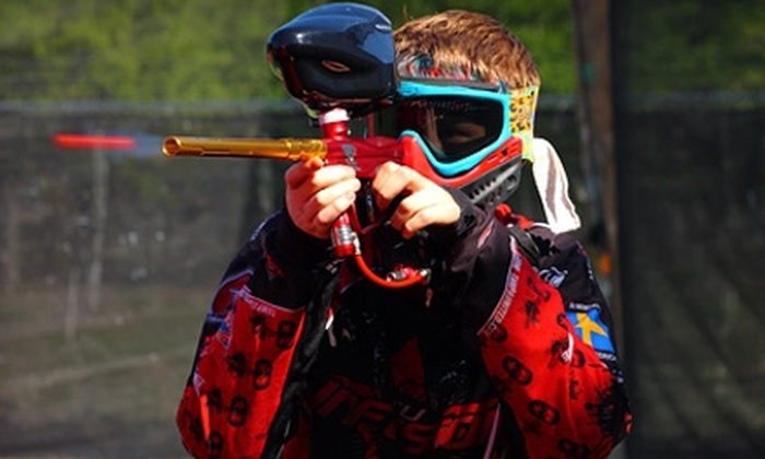 Genesis Paintball - Odessa: $36 for Two All-Day Admissions, Two Rental Packages with Equipment and All-Day Air, and 1,000 Paintballs at Genesis Paintball in Odessa ($74 Value)