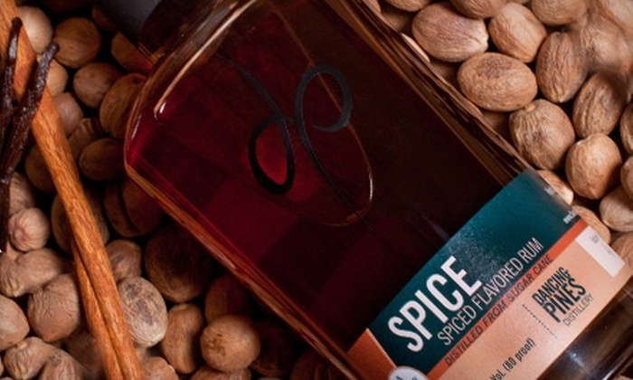 Dancing Pines Distillery - Loveland: $5 for One Distillery Tour, One Spirit Tasting, and Two Cocktails at Dancing Pines Distillery in Loveland (Up to $14 Value)
