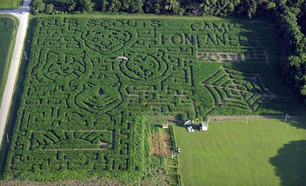 2 Admissions to the Pumpkin Patch and Corn Maze (up to a $12 value) - Camp Fontanelle in Fontanelle