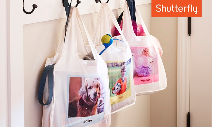 Shutterfly: Custom Reusable Shopping Bag from Shutterfly (Up to 50% off)