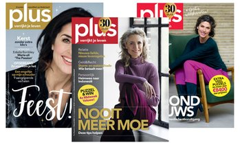 6 of 11 nummers Plus Magazine