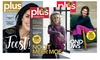 6 of 11 nummers Plus Magazine