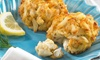 6-Pack of Blue Crab Trading Fish and Crab Cakes: 6-Pack of Blue Crab Trading Louisiana-Style Fish and Crab Cakes; 3oz. Each