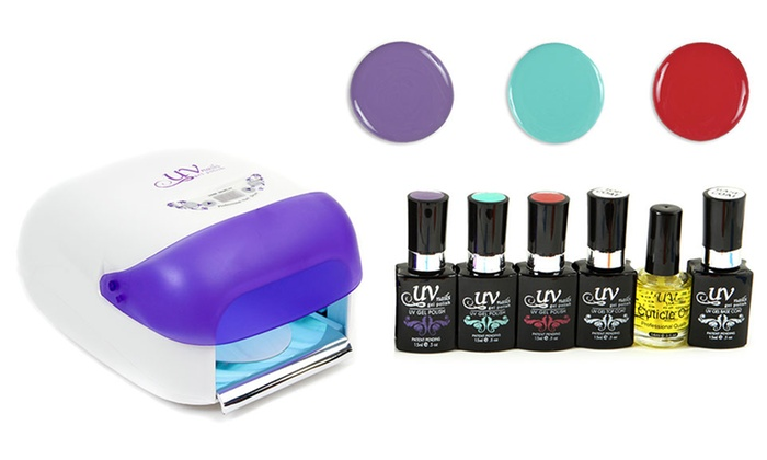 UV-Nails Professional At-Home Gel Polish Starter Kit