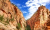Bindlestiff Tours: Guided Death Valley, Zion, or Ghost Town Day Tour by Bus for One, Two, or Four from Bindlestiff Tours (Up to 53% Off)