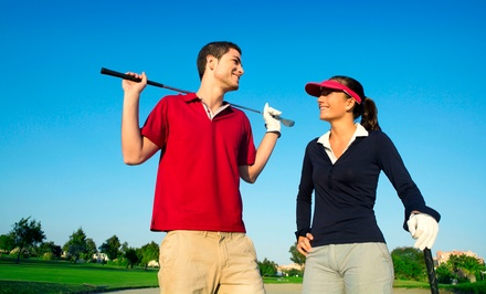 Batting-Cage Time, Golf Lessons, or a Round in a Golf Simulator at Pappas Indoor Golf & Baseball (Up to 51% Off)