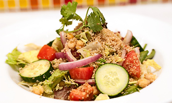 Bombay Spice Grill - Near North Side: $7 for $12 Worth of Healthy Indian Quick-Service Food at Bombay Spice Grill