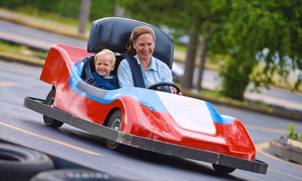 Unlimited Rides Plus Go-Kart Rides for Two or Four at Keansburg Amusement Park (Up to 38% Off)