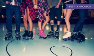 Fountain Valley Skating: Roller-Skating Plus Skate Rental for Two, Four, or Six at 