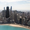 Chicago Helicopter Tour for Two in the Daytime or Nighttime
