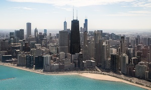 Chicago Helicopter Experience: Chicago Helicopter Tour for Two in the Daytime or Nighttime from Chicago Helicopter Experience